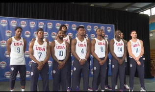 Coach K. And Team USA Ready For Olympic Action