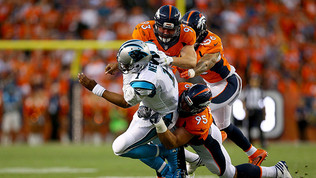 Broncos' Players Fined For Hits On Newton