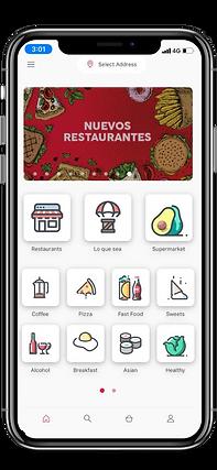 Nuevo app delivery Dame Un Bite Puerto R