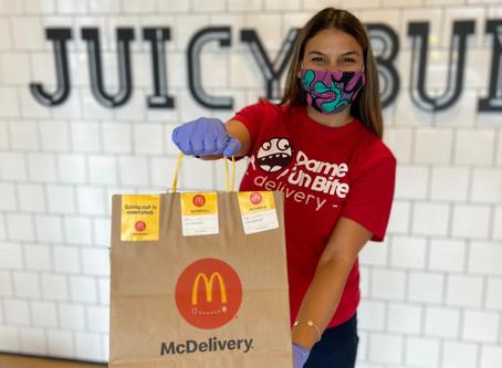 Bada ba ba baaaaaa... me ENCANTA que McDonald's ya esté en Dame Un Bite