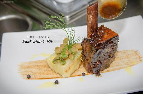 Chef Szabi's Slow Braised Beef Rib speci