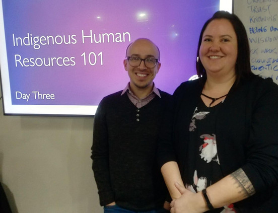 Indigenous HR 101 with Gene Jamieson and Lisa Isaac