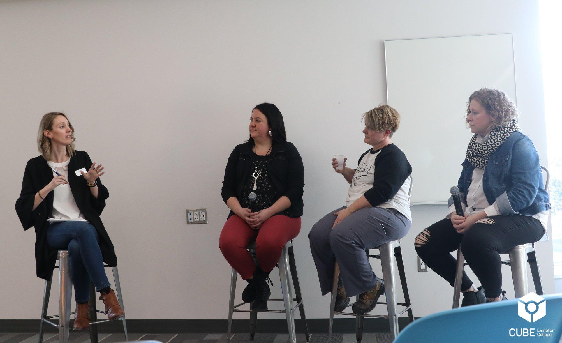International Women's Day panel