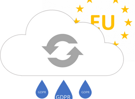 Partly Cloudy with a Chance of Rain: How GDPR puts a silver lining on the Cloud