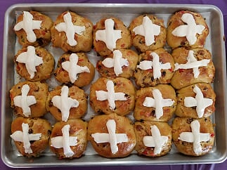 2018-Easter-Hot Cross Buns