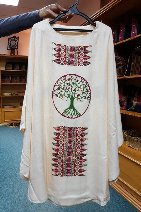 2016-September-White Chasuble-1