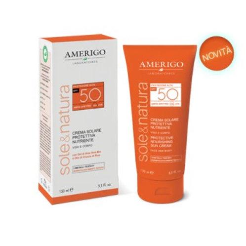 AMERIGO - CREMA SOLARE PROTETTIVA SPF 50 - 150 ML