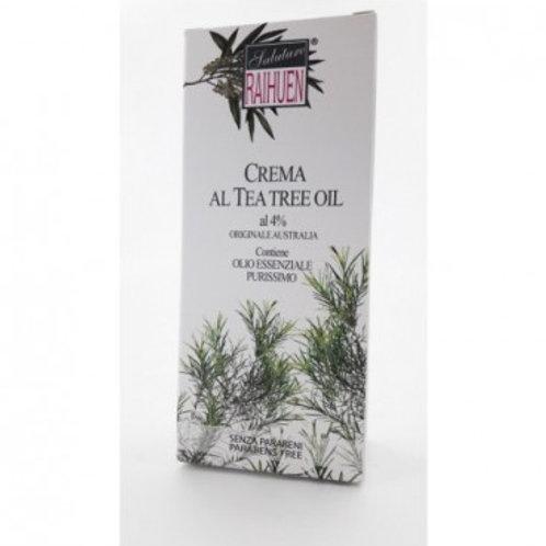 RAIHUEAN - CREMA TEA TREE 4% - 100 ML