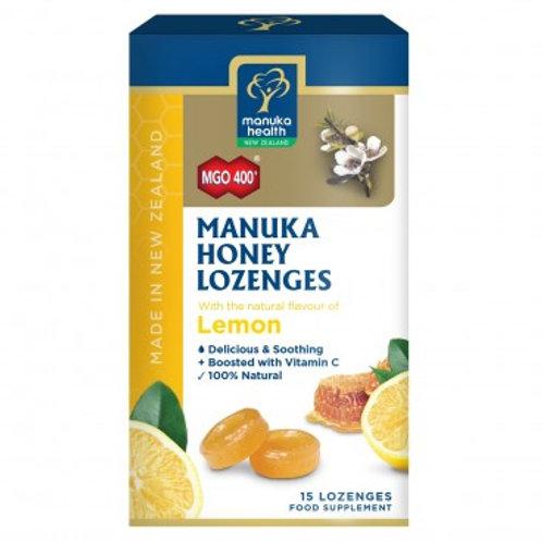 MANUKA HEALTH - CARAMELLE CON MIELE DI MANUKA E LIMONE - 65 GR