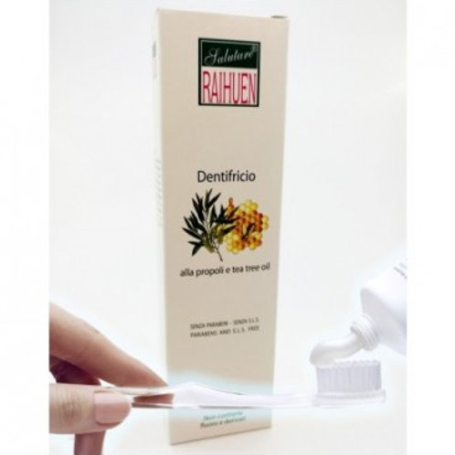RAIHUEN - DENTIFRICIO PROPOLI E TEA TREE OIL 100 GR