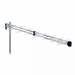 Hobart Antenna Instal Fracarro LP45F700 UHF High Gain he Fracarro LP45F700 is a pre-assembled Log Periodic antenna ready for plug and play easy installation. ExcellentRF engineering and high level design guarantees reliable RF connection to feedline.