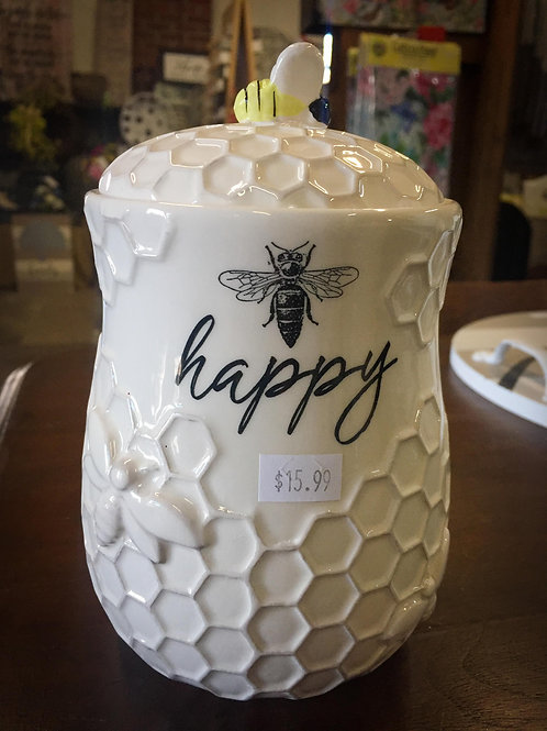 Happy Bee canister