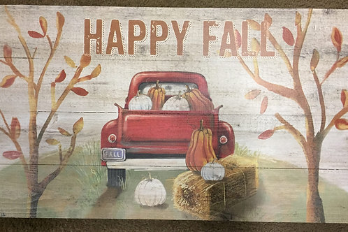 Happy Fall-sign