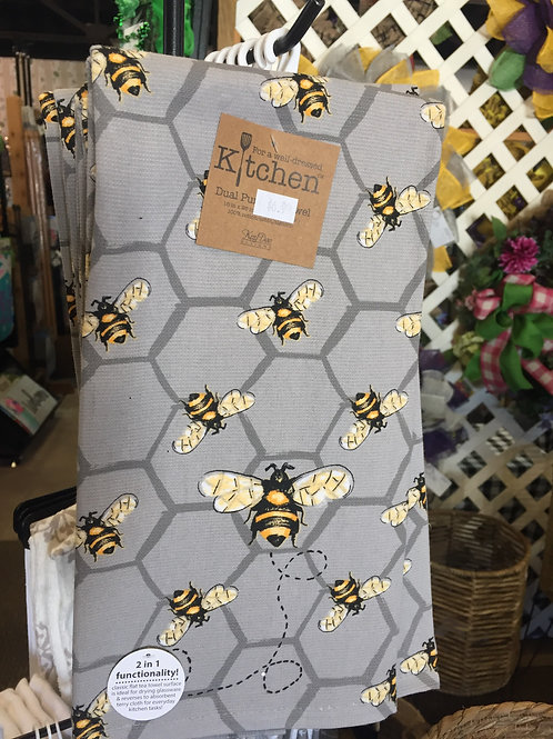 Busy Bees Kitchen Towel