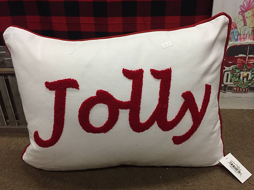 """Jolly"" pillow"