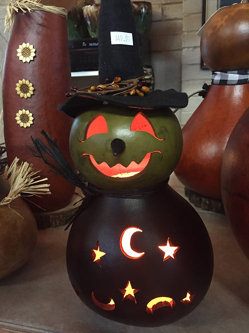 Meadowbrooke Gourd-Witchy Woman-Lighted