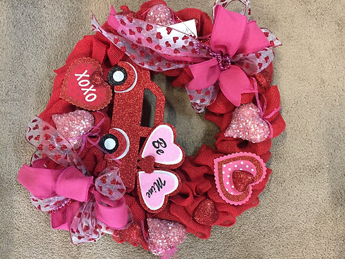 Be Mine Valentine's Wreath