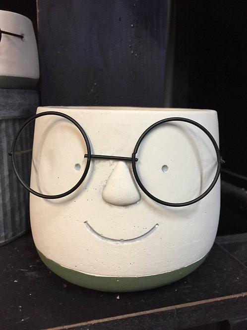 Large Poindexter flower pot