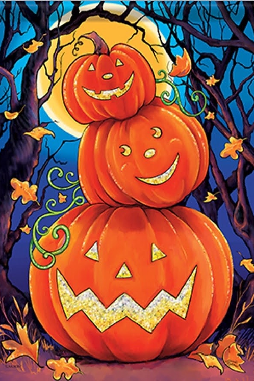 Happy Pumpkin Stack