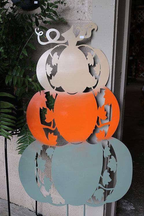 Metal Pumpkin stack