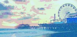 California Adventure Santa Monica