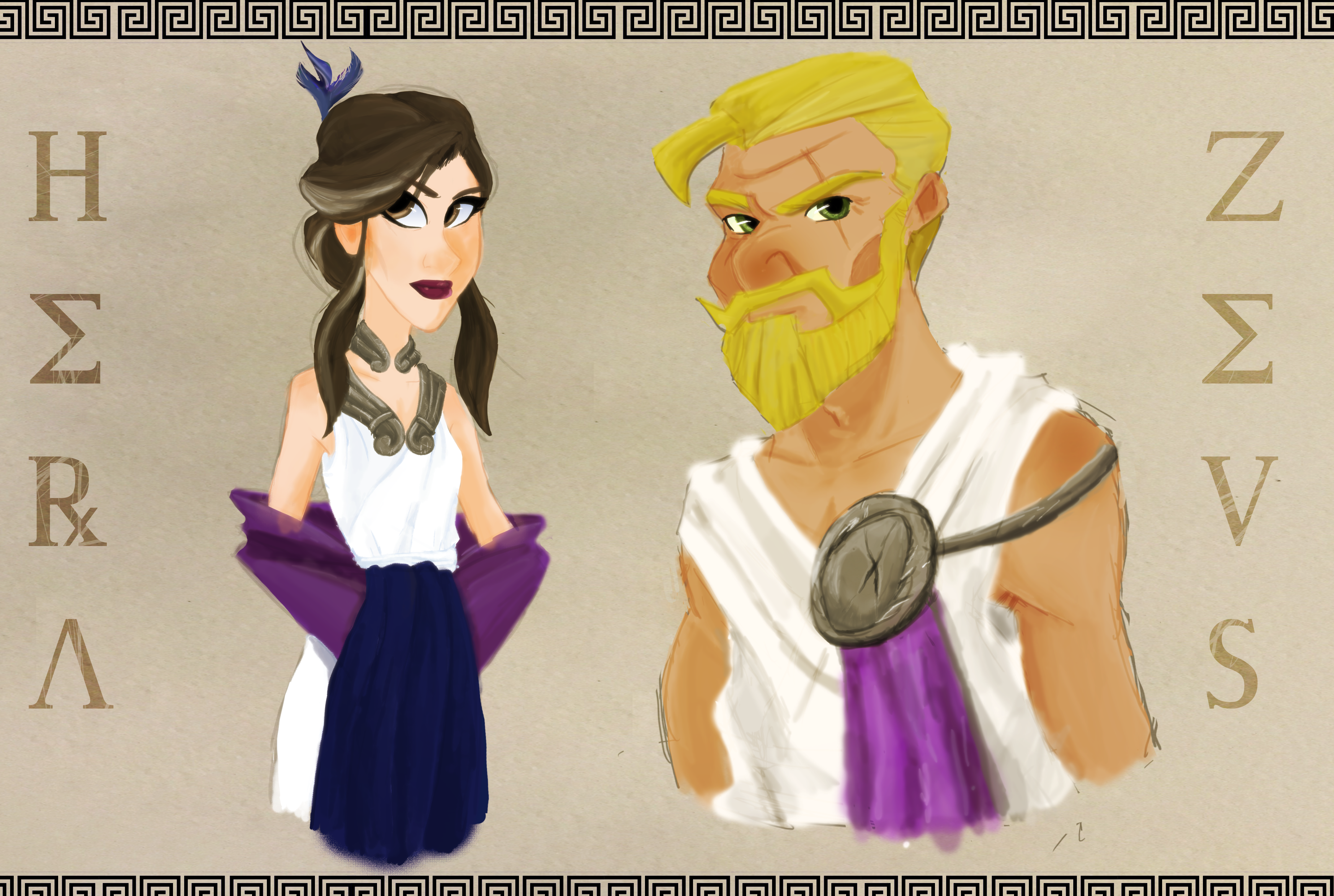 Zeus & Hera