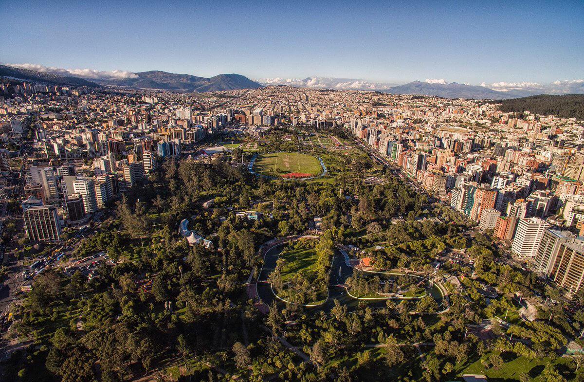 La Carolina Park - Aerial view