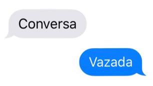 CONVERSA VAZADA