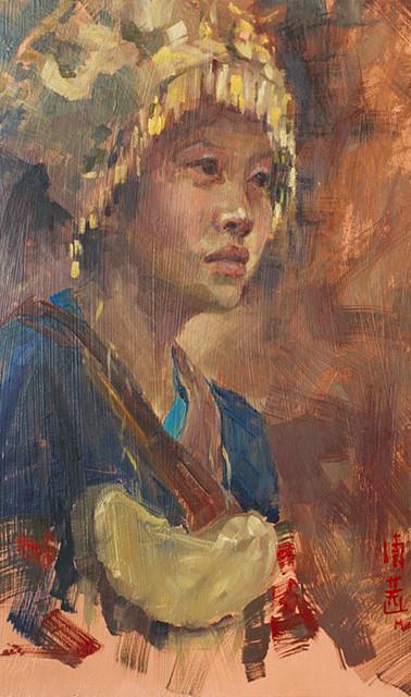 Miao Village Dancer