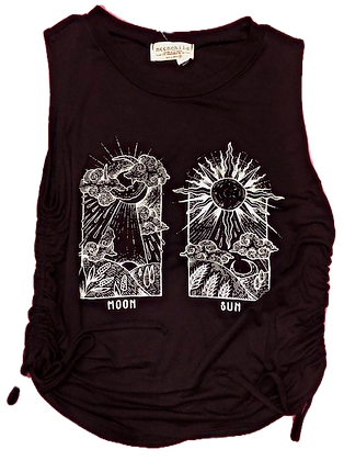YOU ARE THE SUN + MOON TANK