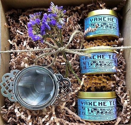 YAXCHE GIFT OF GOODNESS TEA TRIO