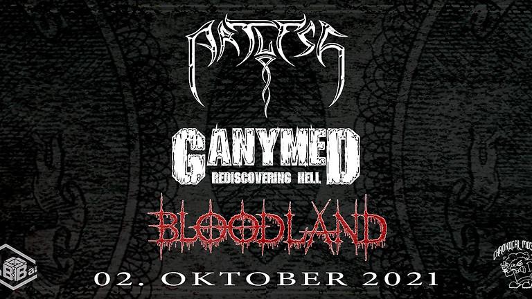 Metal Up - Artless, Ganymed, Bloodland