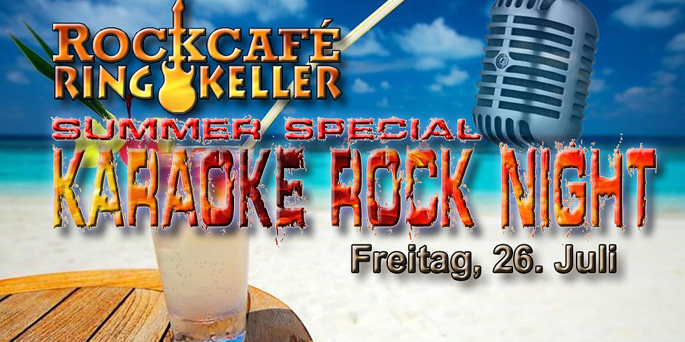 Karaoke Rock Night Summer Special