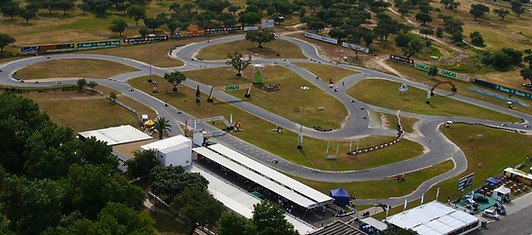 Go-Karting at the Kartodromo de Évora