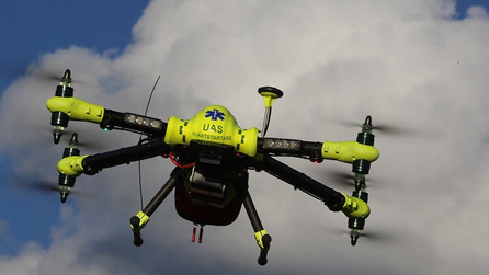 Defibrillator drones: the new medical research that could save your life
