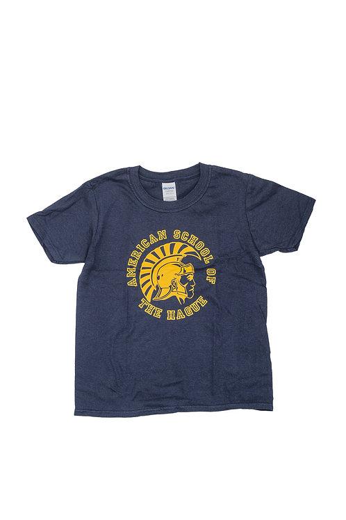 Youth Short Sleeve T-Shirt with Trojan Logo