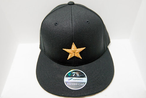 Gold Star Fitted Hat MWAG