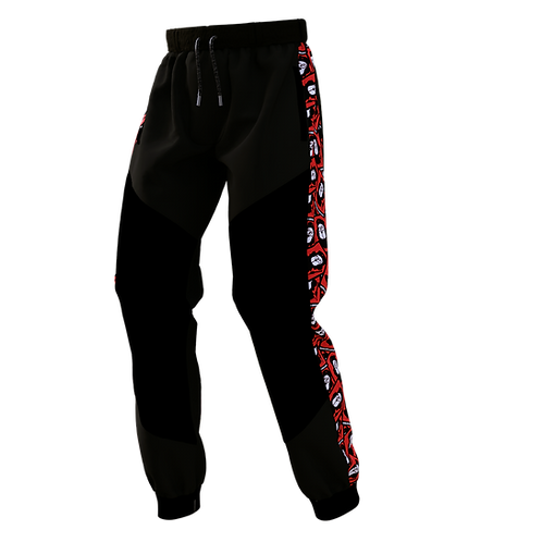 Sticker Pattern Signature Jogger