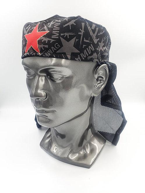 Black MWAG Pattern Headwrap