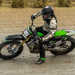 Senoia Flat Track Motorcycle Racing