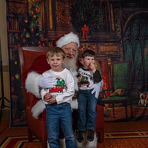 Santa at SCC