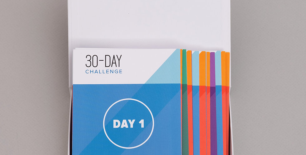 30 Day Sales Challenge Cards