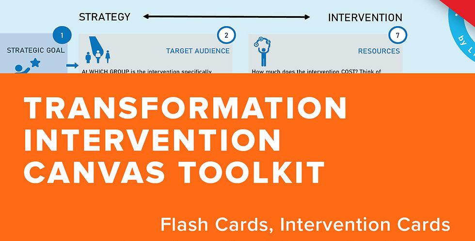 Transformation Intervention Canvas Toolkit