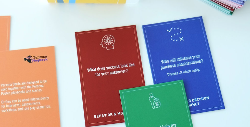 Persona Cards B2C