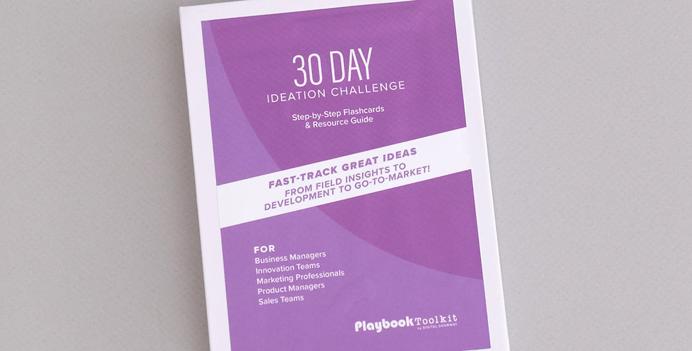 30 Day Ideation Challenge Cards