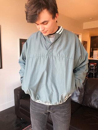 Blue-Green Pullover Jacket
