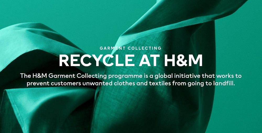 recycle at H&M