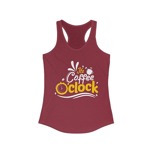It's Coffee O'Clock Tank Top