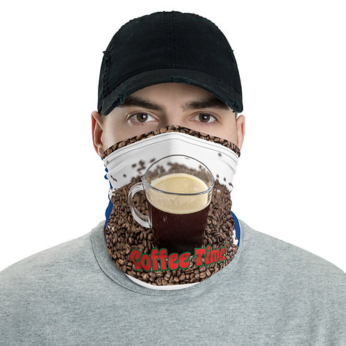 Face Mask-Stay Safe-Coffee