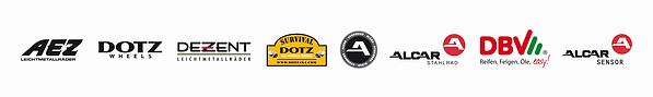 Logoleiste mit AEZ_DOTZ_DEZENT_4x4_HYBRI